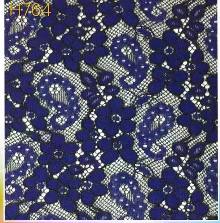 Colorful Flower Pattern Lace Fabric (with oeko-tex standard 100 certification) pictures & photos