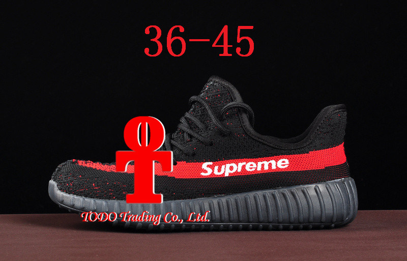 2017 Originals Kanye Yeezy 350V2 True Standard Version Combination Bottom Addas Yeezy 350 Boost V2 Running Shoes By1605 Size 36-45