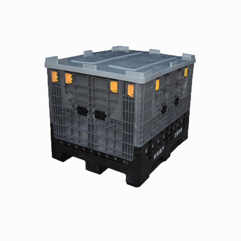 China Plastic Logistic Collapsible Bin Pallet Boxes