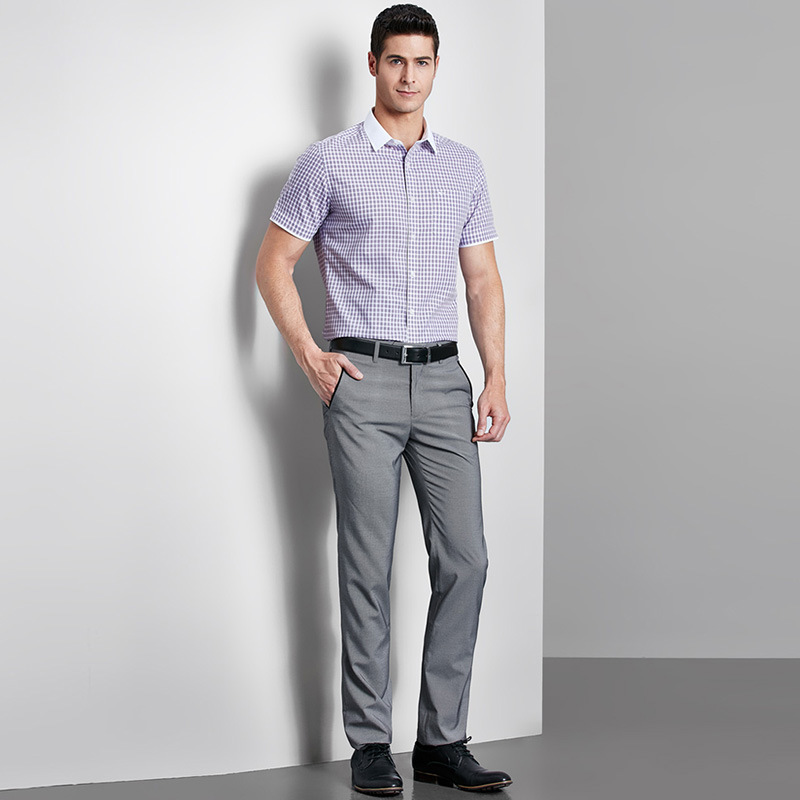 Bespoke High Quality Men′s Dark Grey Dress Pants/Trousers