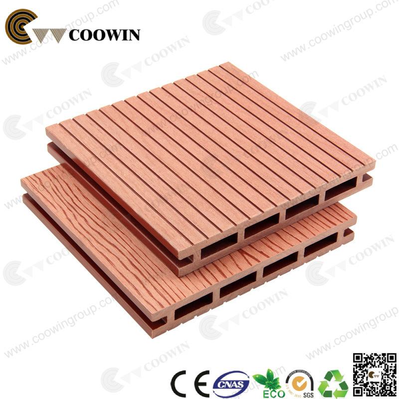 China Laminate Flooring Anti Slip Wpc Wooden Plastic Boat Decking Floor
