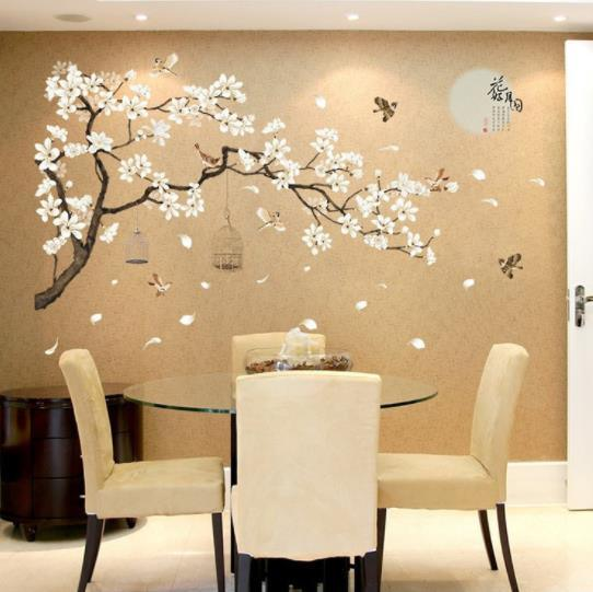 China Beautiful White Denudata Cute, Wall Stickers For Living Room