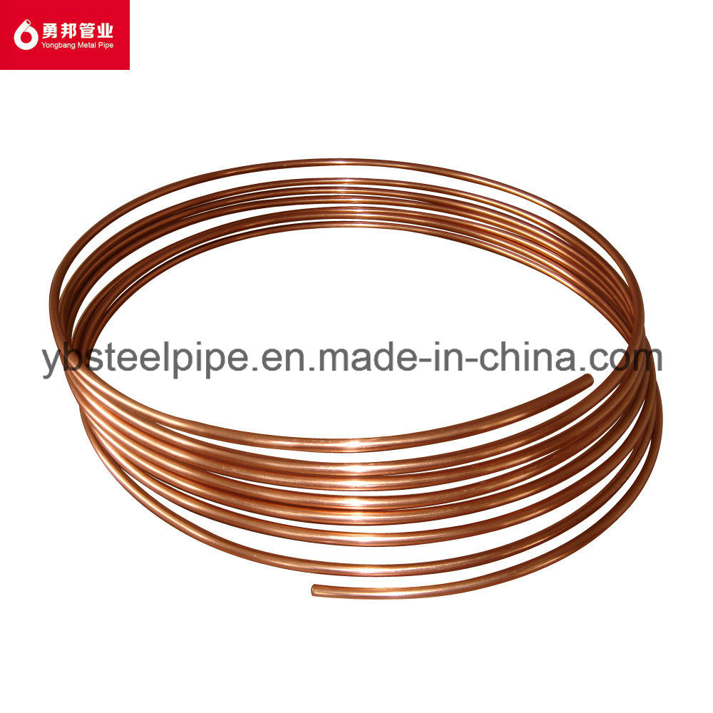 China Copper Coated Steel Tube for Freezer Condenser - China ...
