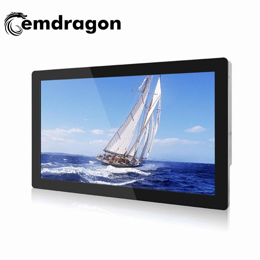 China Infrared Advertising Player Ultra Thin Wall Mount 32 Inch LCD ...