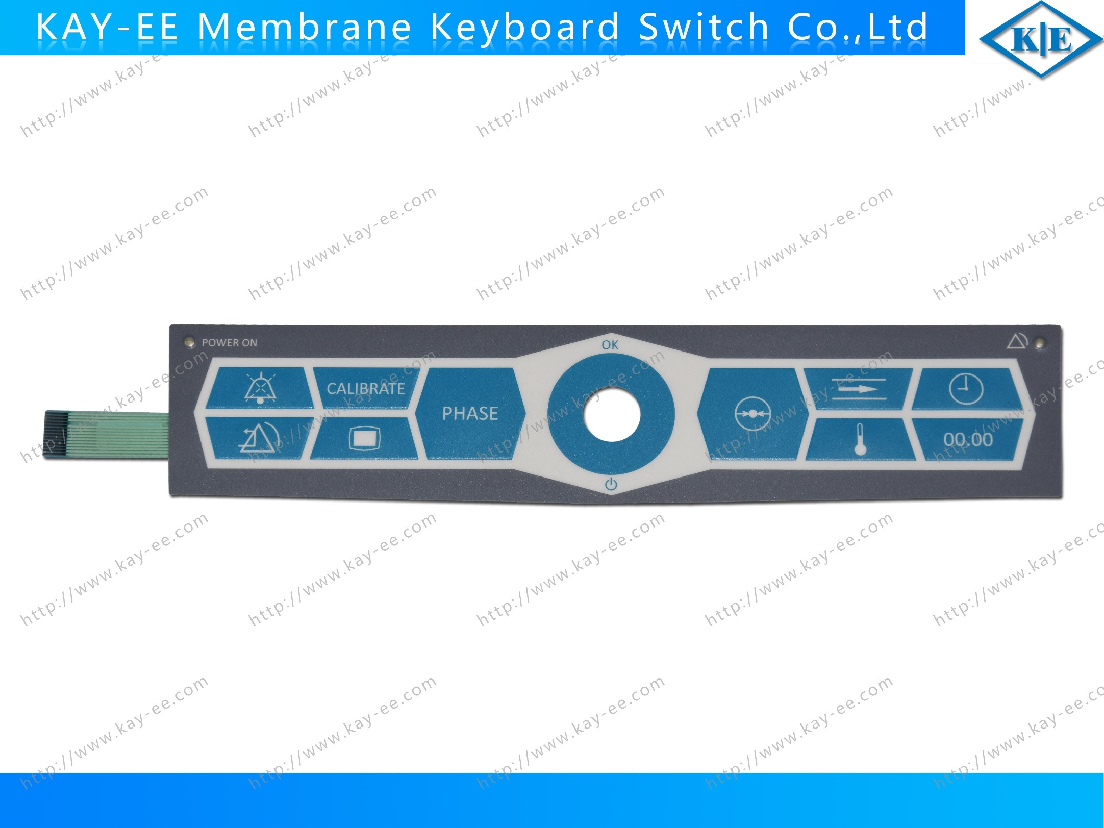 China Non Tactile Control Panel Switch With Kingbright Leds Waterproof Metal Dome Membrane Pcb Circuit Board Tactlle Led