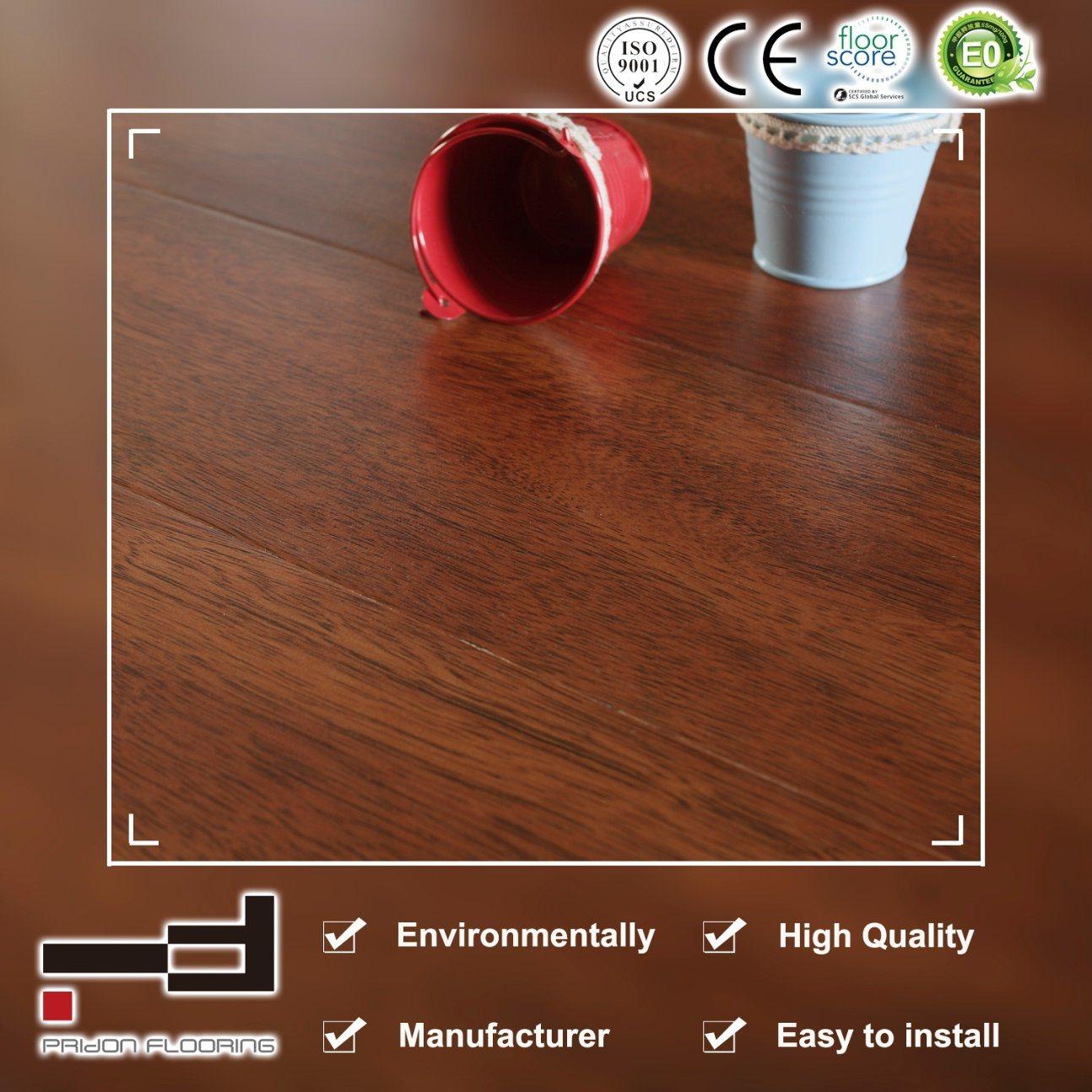 China German Technology Laminate Ce Hdf Hand Sed Waterproof Flooring Laminated