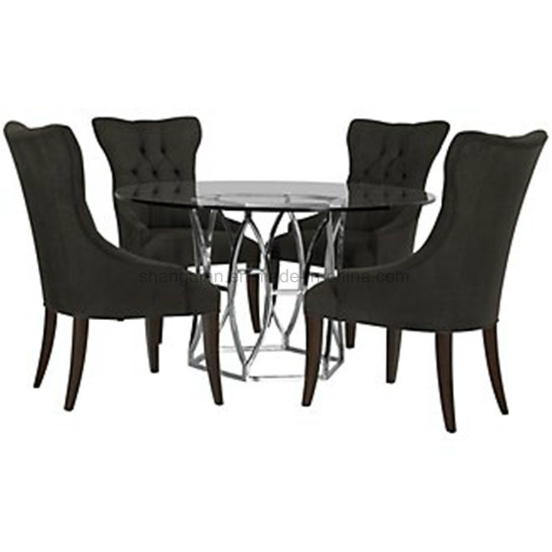 China Luxury Modern Italian Dining Room Furniture Made In Sr