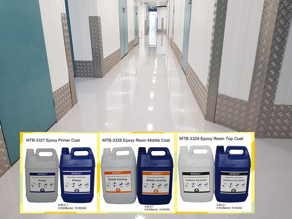 Solid Epoxy Resin Floor Coating Kg Kit