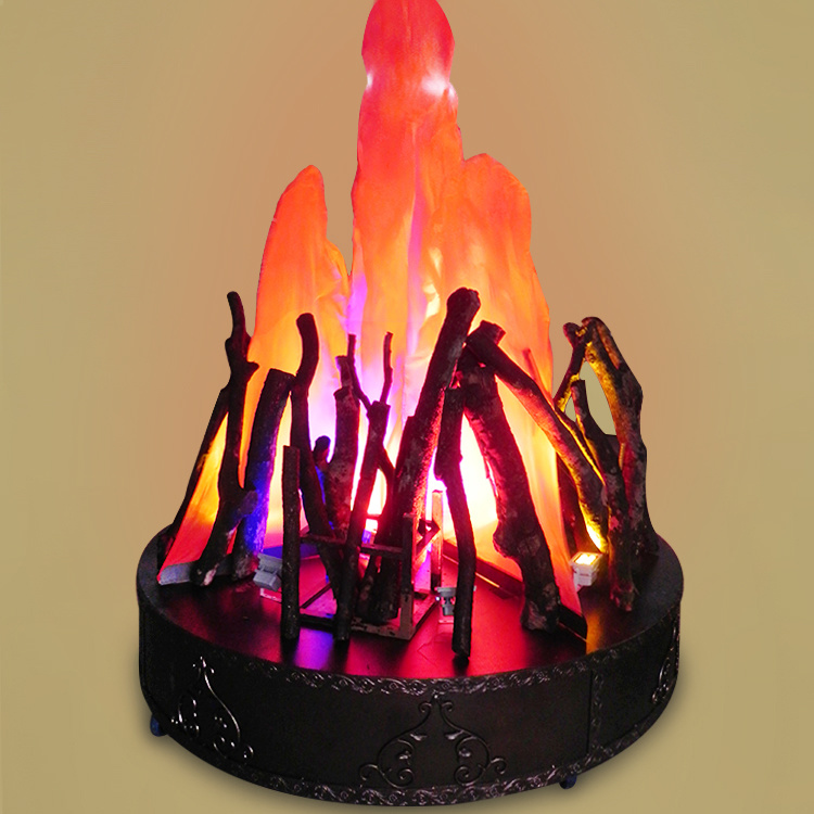 China Fake Fire Decoration Silk Artifical Flame Light