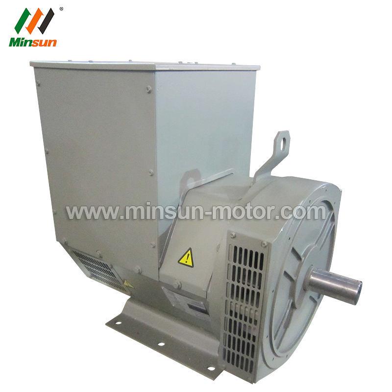 80kw Double Bearing AC Generator Motor