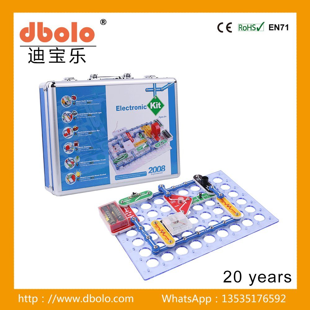 China Brick Toy For Children Snap Circuits Electronics Discovery Kit Toys