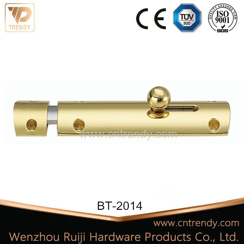 "T Shape Brass Sliding Bolt Barrel Bolt with Round Head (2""-6"") pictures & photos"