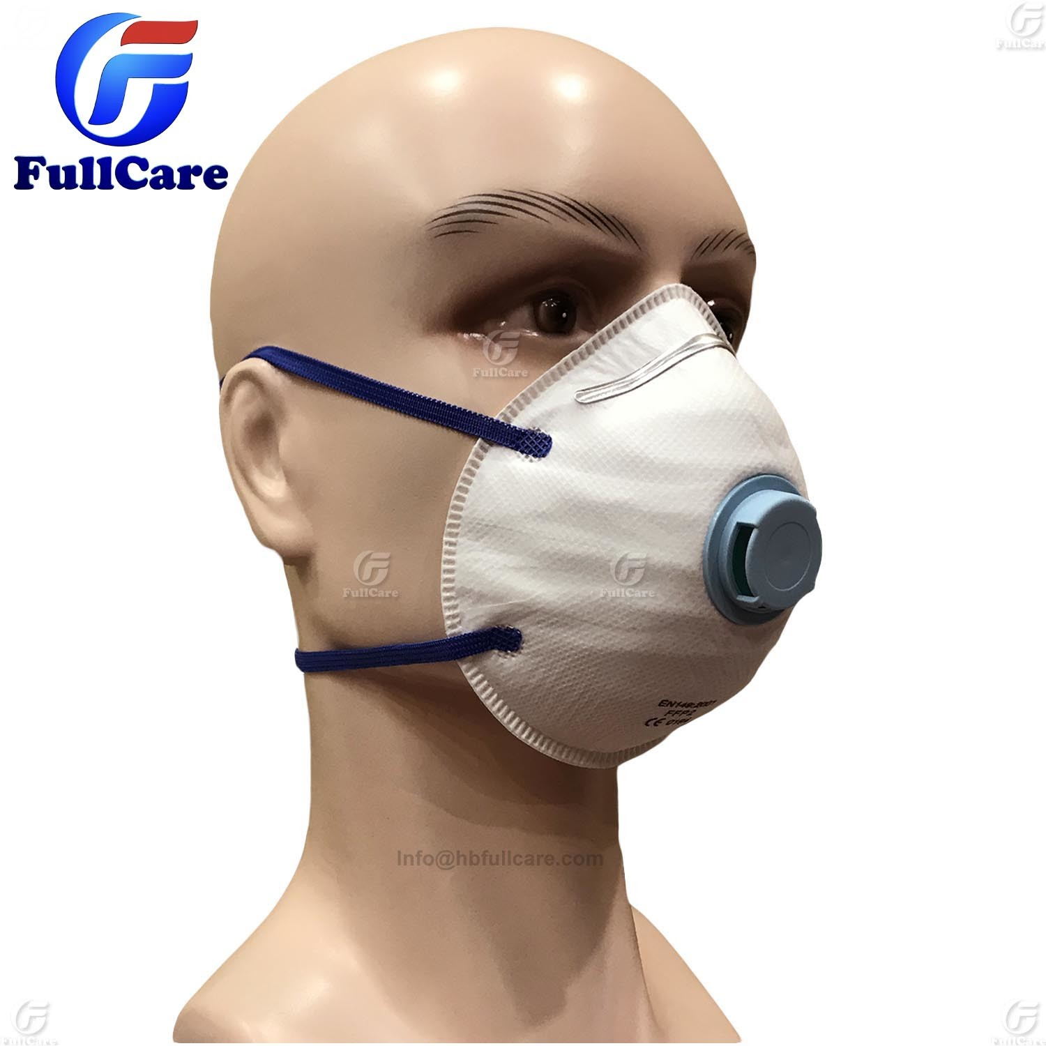 Dust Dispsable Item P2 Respirator hot Valve Mask Face