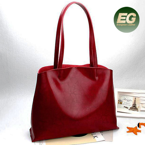 Handbags Factory In China 100 Cow Leather Handbag Tote Bag Fashion Collage Emg5351 Designer Hand