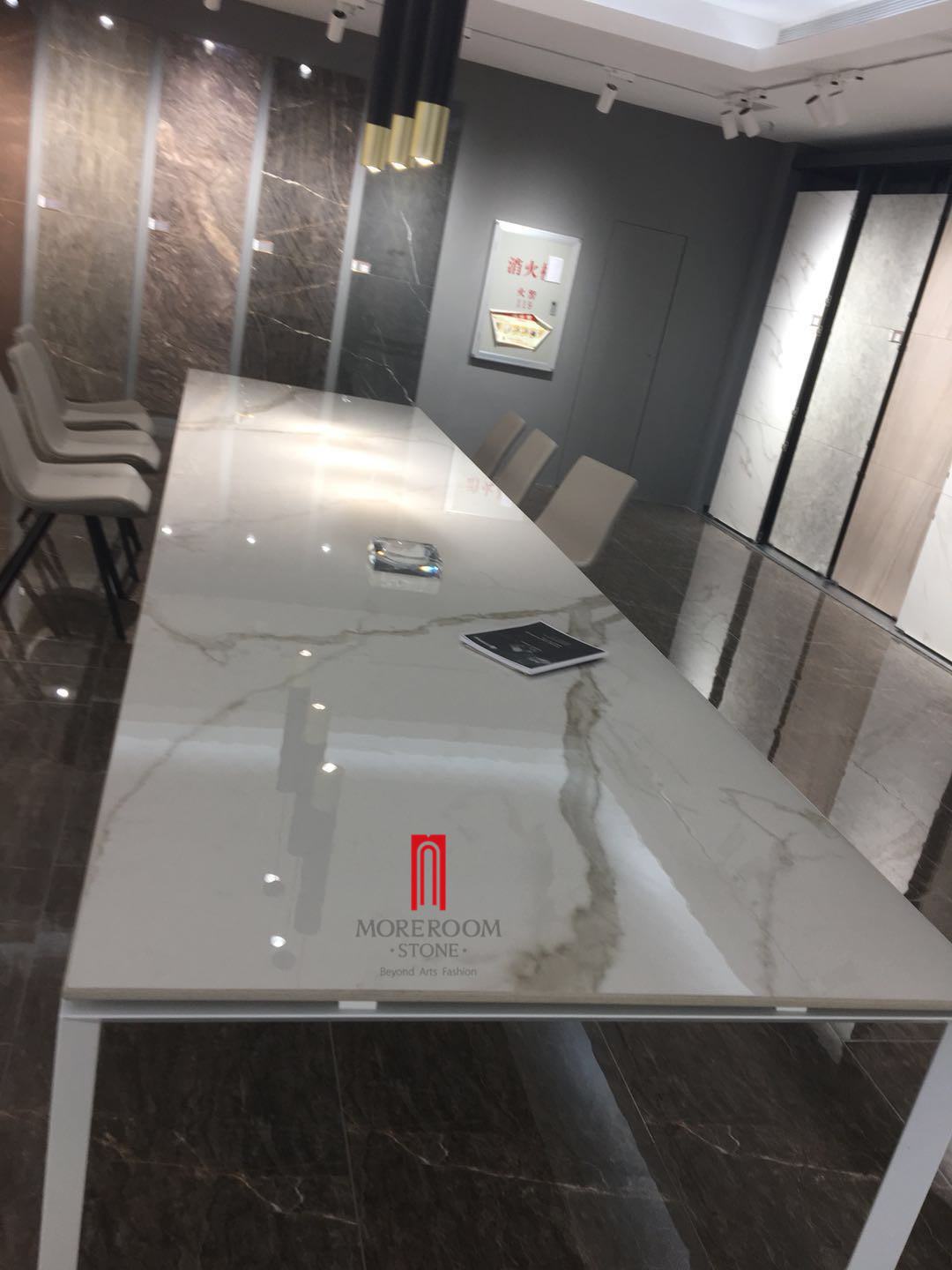 China Wall Panel Big Size Porcelain Tile Slab Countertop And Table Tile Photos Pictures Made In China Com