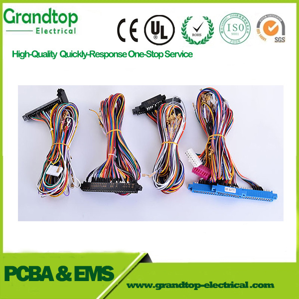 China Tailor Make Wire Harness Cable with Wago Connectors ... on
