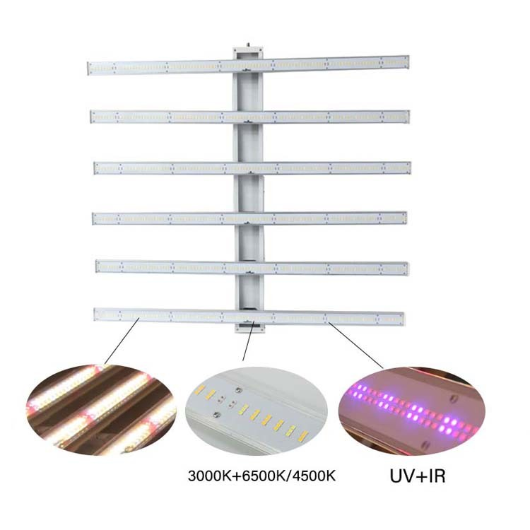 Lm561c Lm301b H Samsung 400W 500 Watt 600 W LED Grow Light with Full Spectrum (Dimmer/Timer/Switch/ Bluetooth)