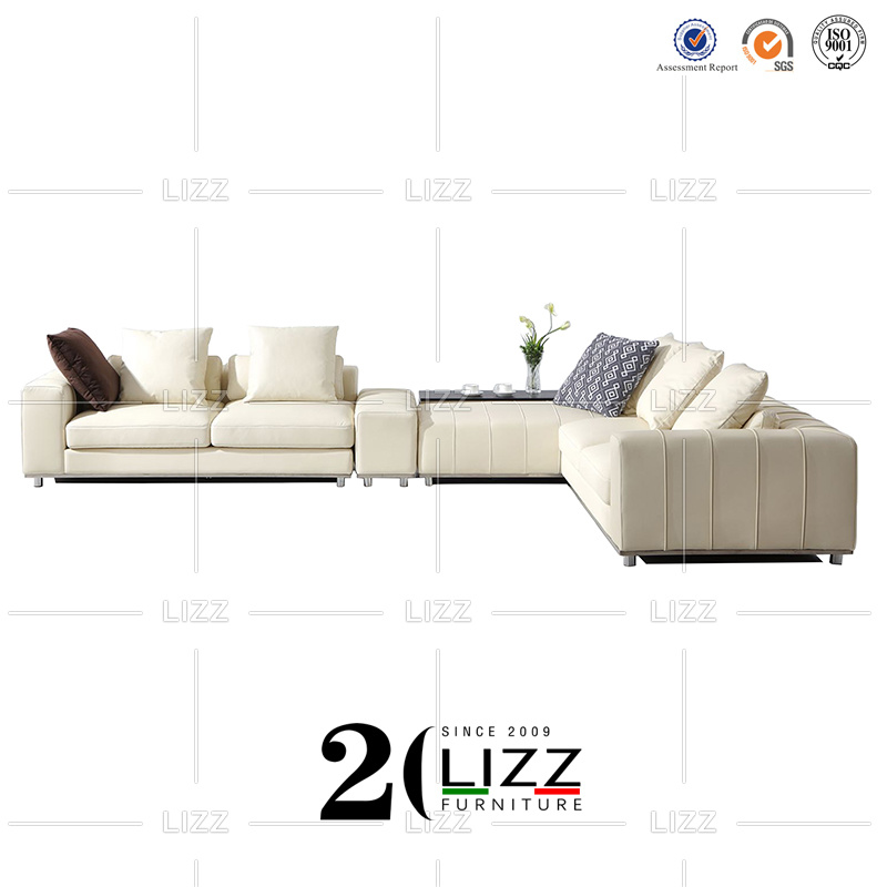 Leather Sectional Sofa For Livingroom