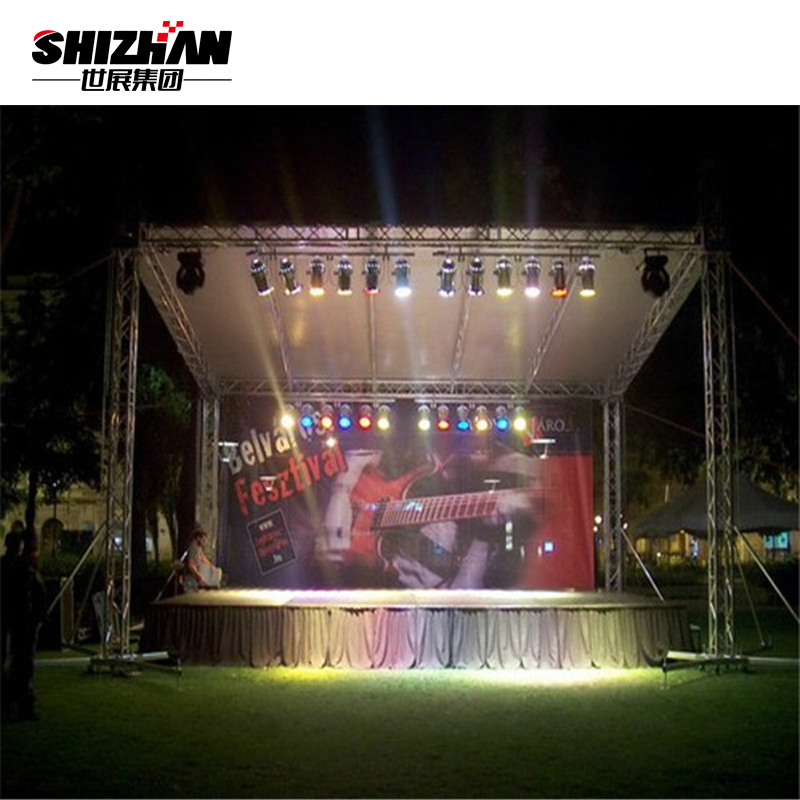 China Light Frame Outdoor Concert Stage Tent Truss Photos & Pictures ...