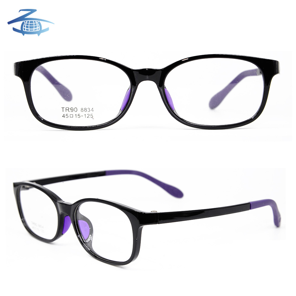 f83f5c63bbf Wholesale Oval Full-Rim Multicolored Kids Tr90 Optical Frame Manufacture in  China - China Eyeglasses