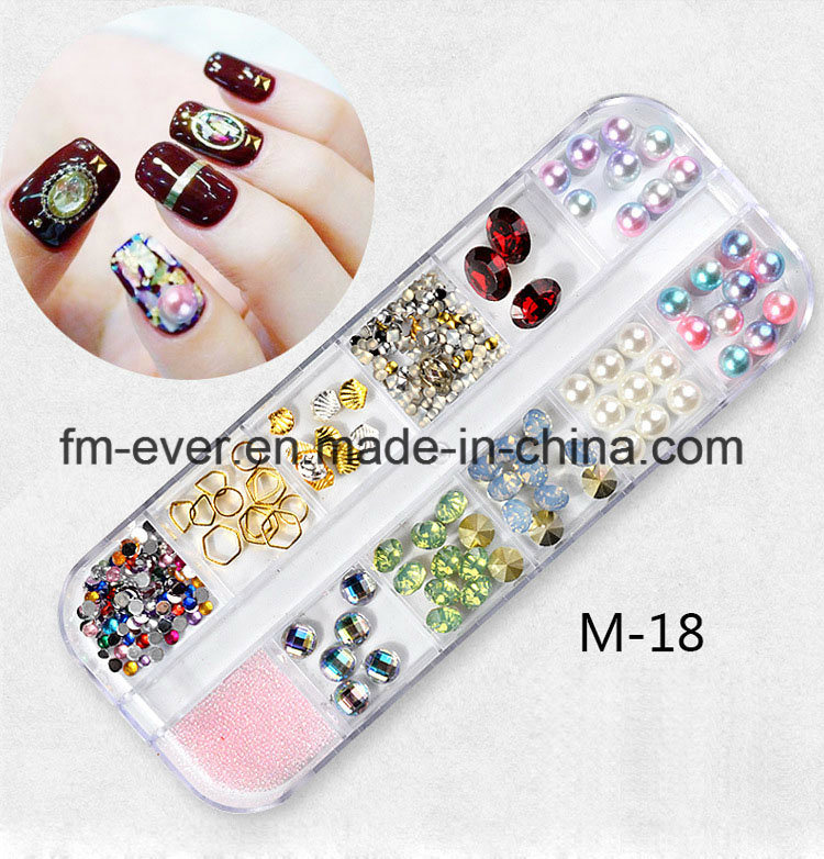 China Nail Studs Mixed Style Nail Art Decoration DIY Tips Nail ...