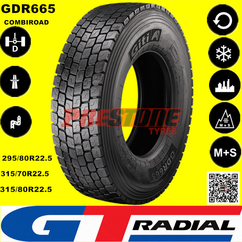 Gt Radial Tires >> Hot Item Giti Gt Radial Gam831 Gam851 Gam837 Gdm686 Truck Tire