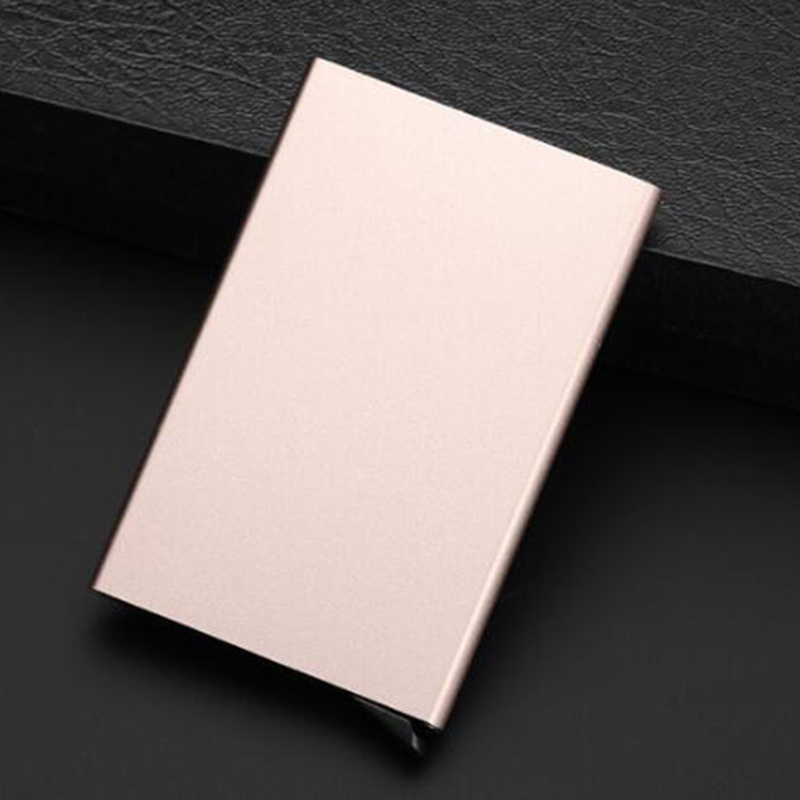 Business Card Use RFID Blocking Metal Card Holder pictures & photos