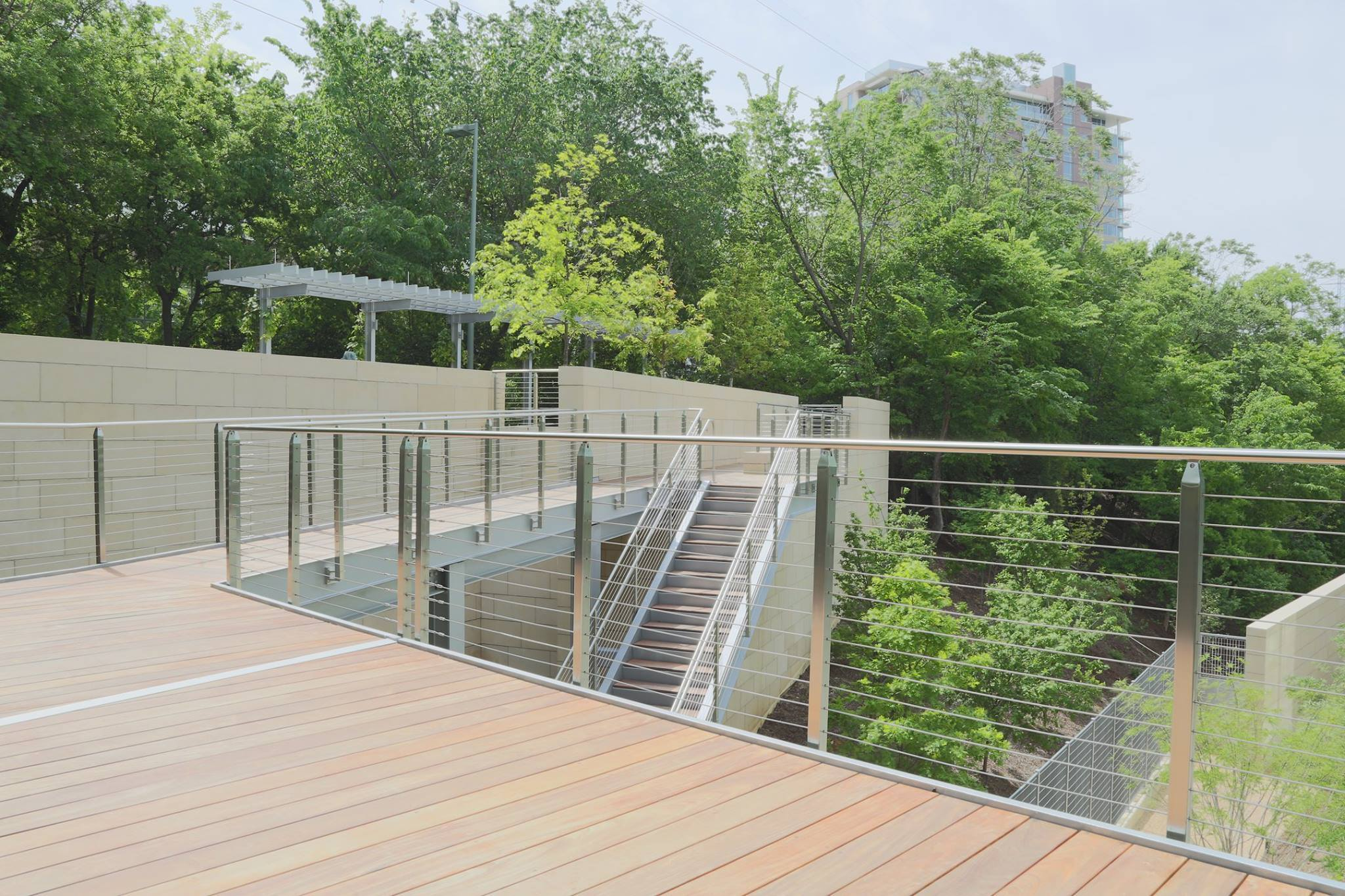 China Quick and Easy to Install Pre-Assembled Cable Railing Panels ...