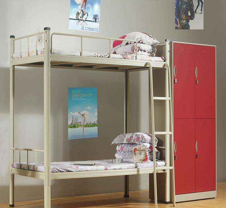 China Military Metal Bunk Beds Steel Furniture Army Surplus Beds