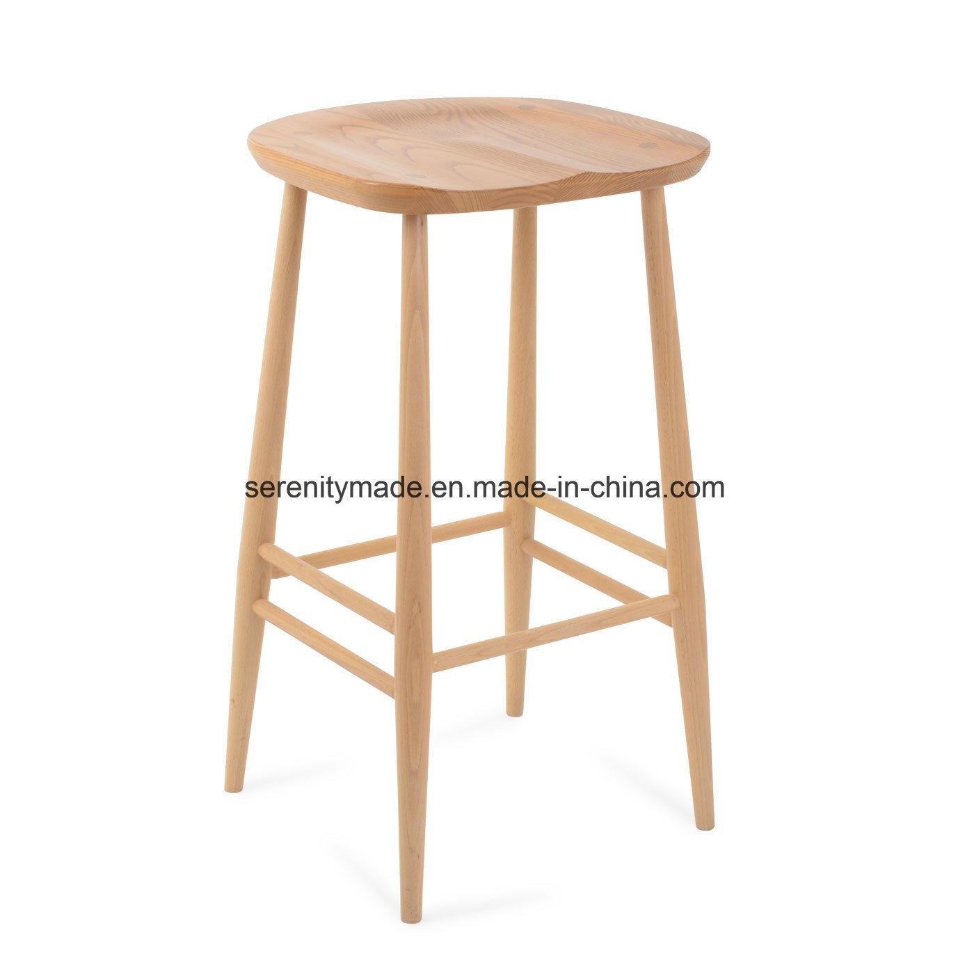 Fabulous Hot Item High Quality Solid Ash Wood Tractor Seat Counter Bar Stool Creativecarmelina Interior Chair Design Creativecarmelinacom