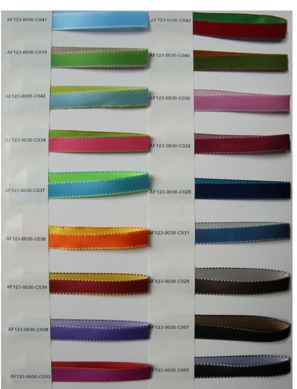 Satin Ribbon for Garments Sr 10001