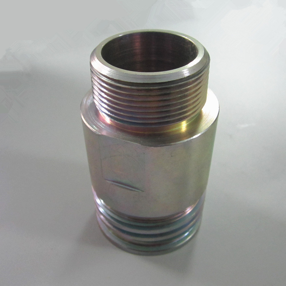 Petrol Line Fitting OEM Machining Turning Turned Part Shaft Roller pictures & photos
