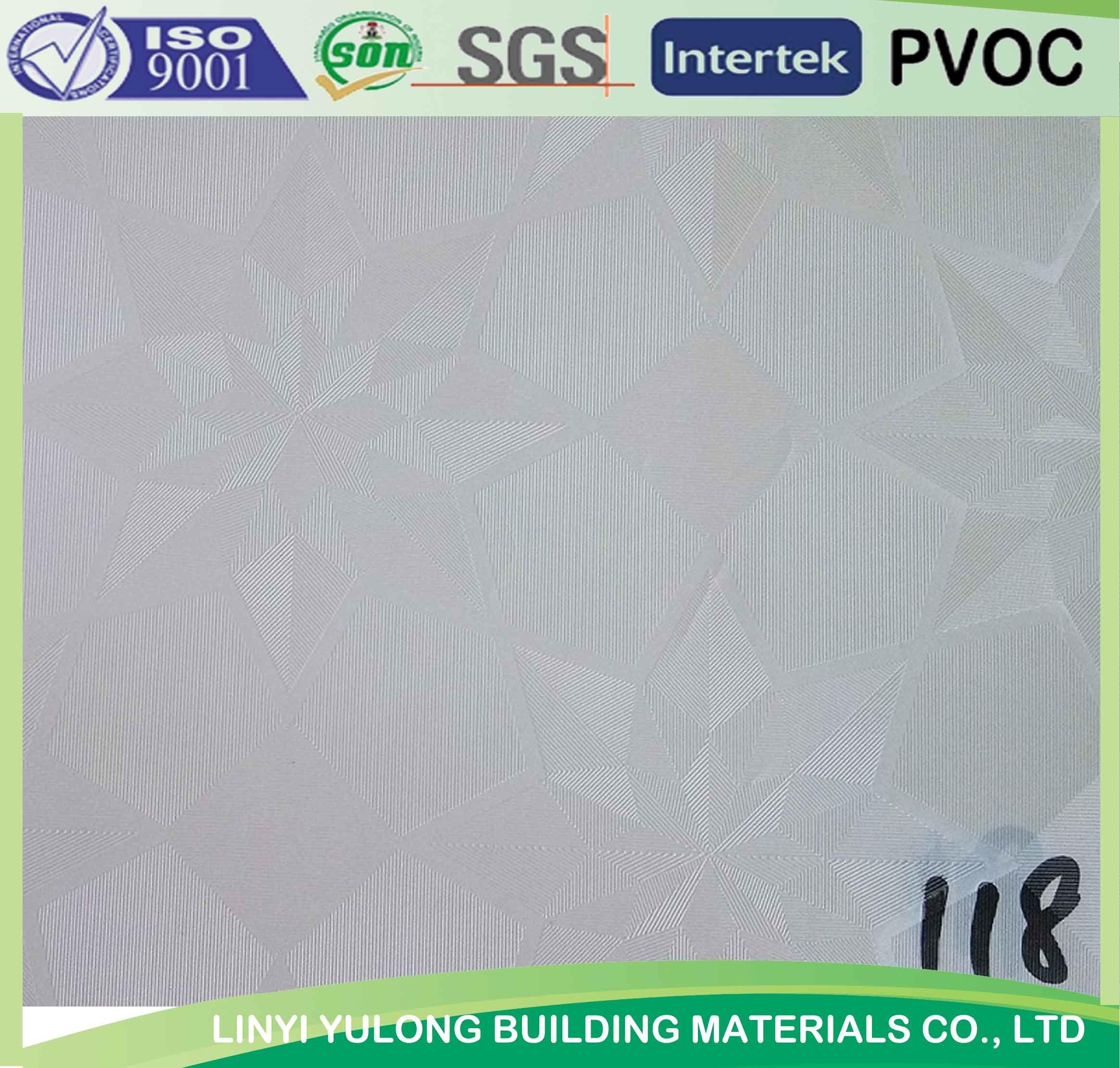 China 118 pvc gypsum ceiling tile with aluminium foil back china china 118 pvc gypsum ceiling tile with aluminium foil back china pvc gypsum ceiling ceiling tiles dailygadgetfo Images