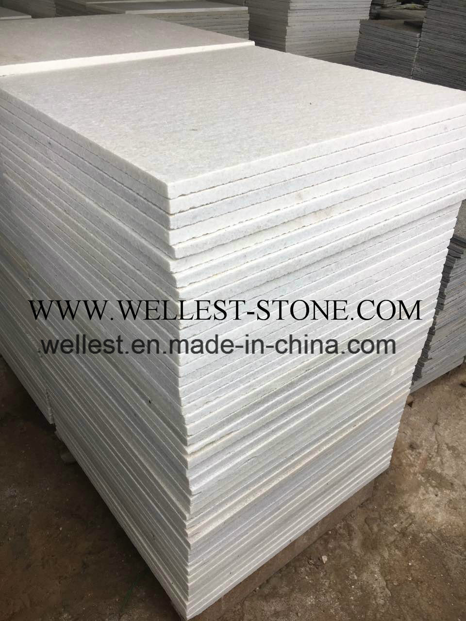 China pure white quartzite floor paving tile a grade outdoor china pure white quartzite floor paving tile a grade outdoor flooring tile wall cladding tile china quartzite tile pure white tile dailygadgetfo Choice Image