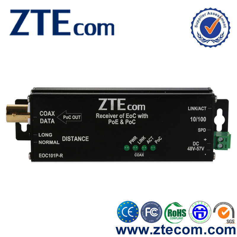 IP camera Converter  Coax to ethernet Cat-5  Network  Any two wire EPOE