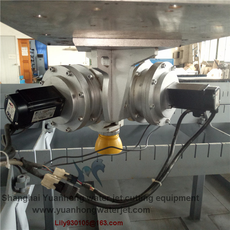 China flow model axis waterjet cutting head for the
