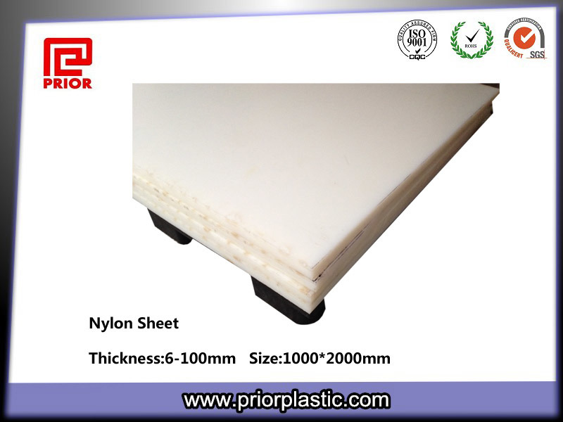 Cast Nylon Plate with SGS Certificate