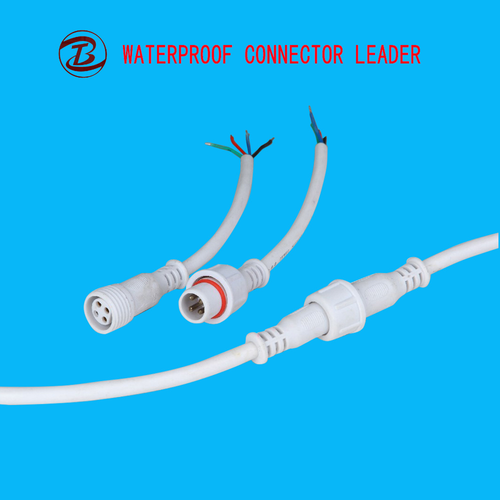 China Male Female IP67 Waterproof 4 Pin Circular Wire Connector ...