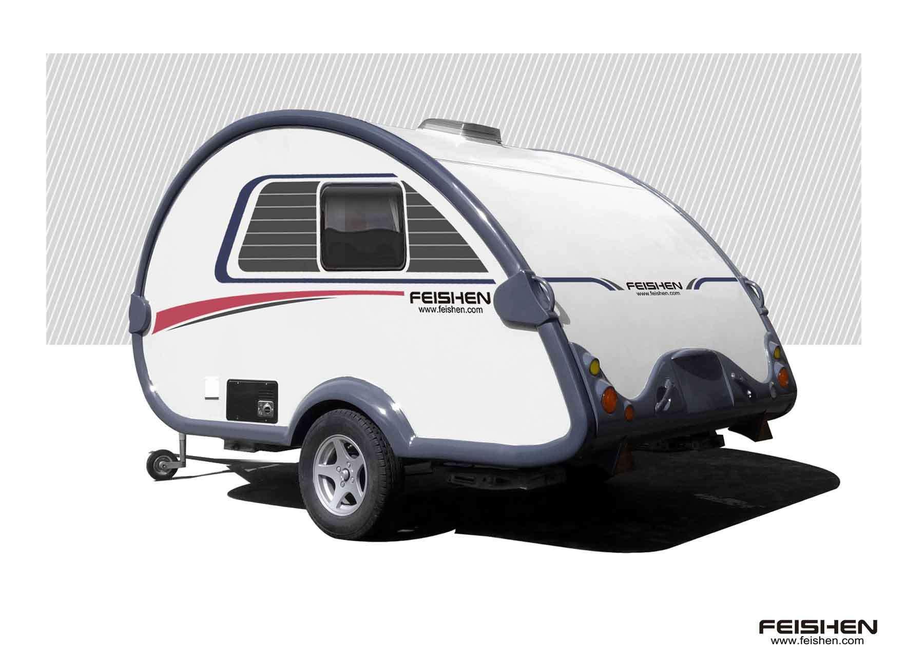 China Teardrop/Mini Caravan/Camper Trailer - China Caravan ...