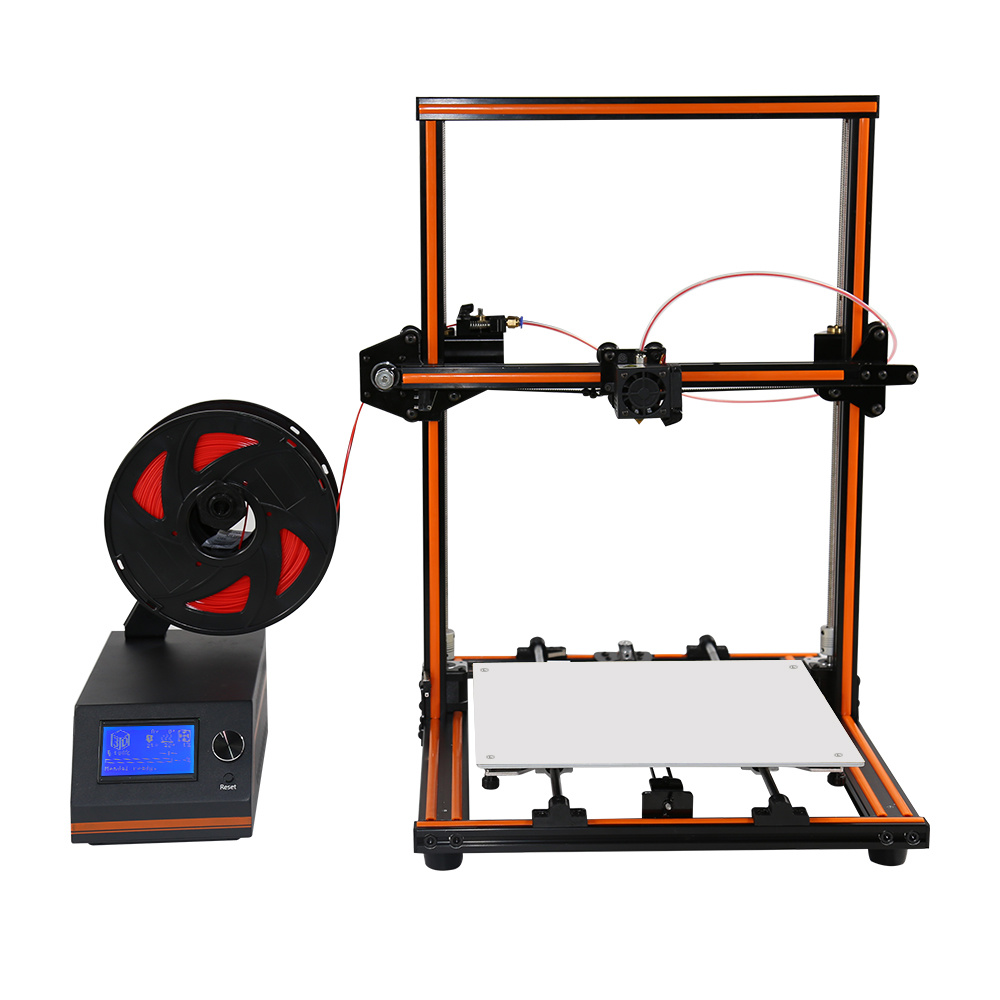 [Hot Item] Upgrade! Anet E12 LCD Touch 0 1mm Precision off Line 3D Printer