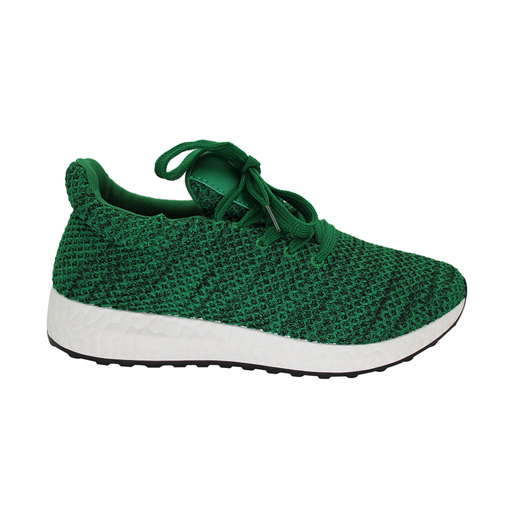 cf0f7db054c27 China 2017 Fashionable Green Shoes Lady Casual Walking Sport Shoe and  Sneakers - China Running Shoes