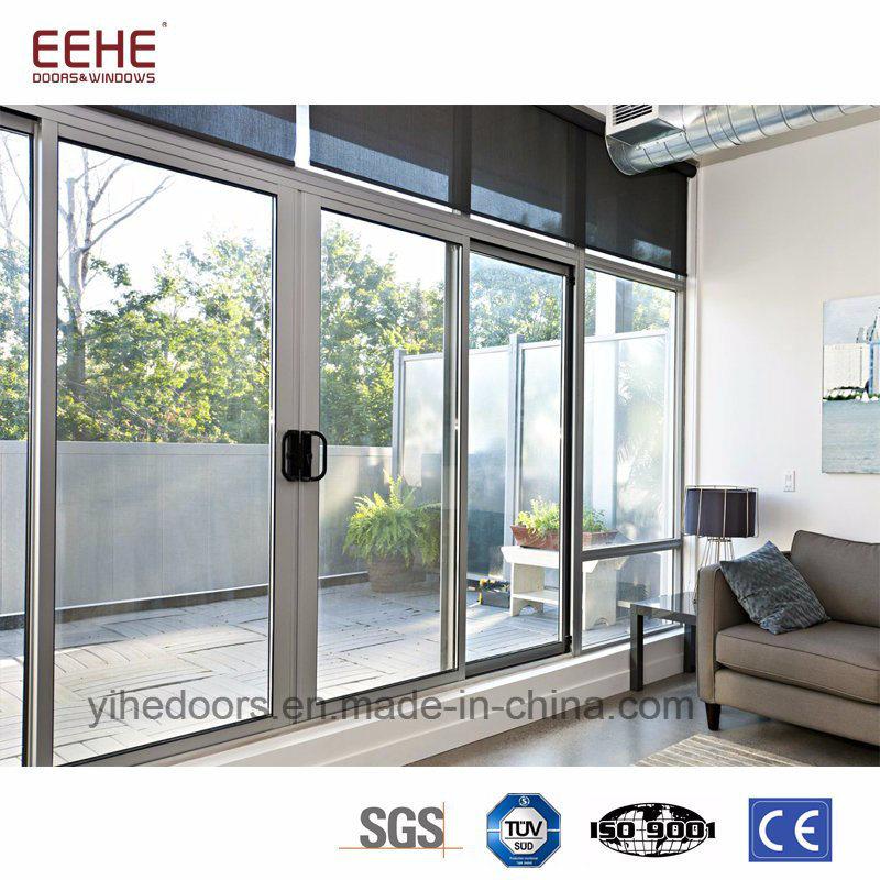 China Balcony Sliding Aluminum Door Soundproof Glass China