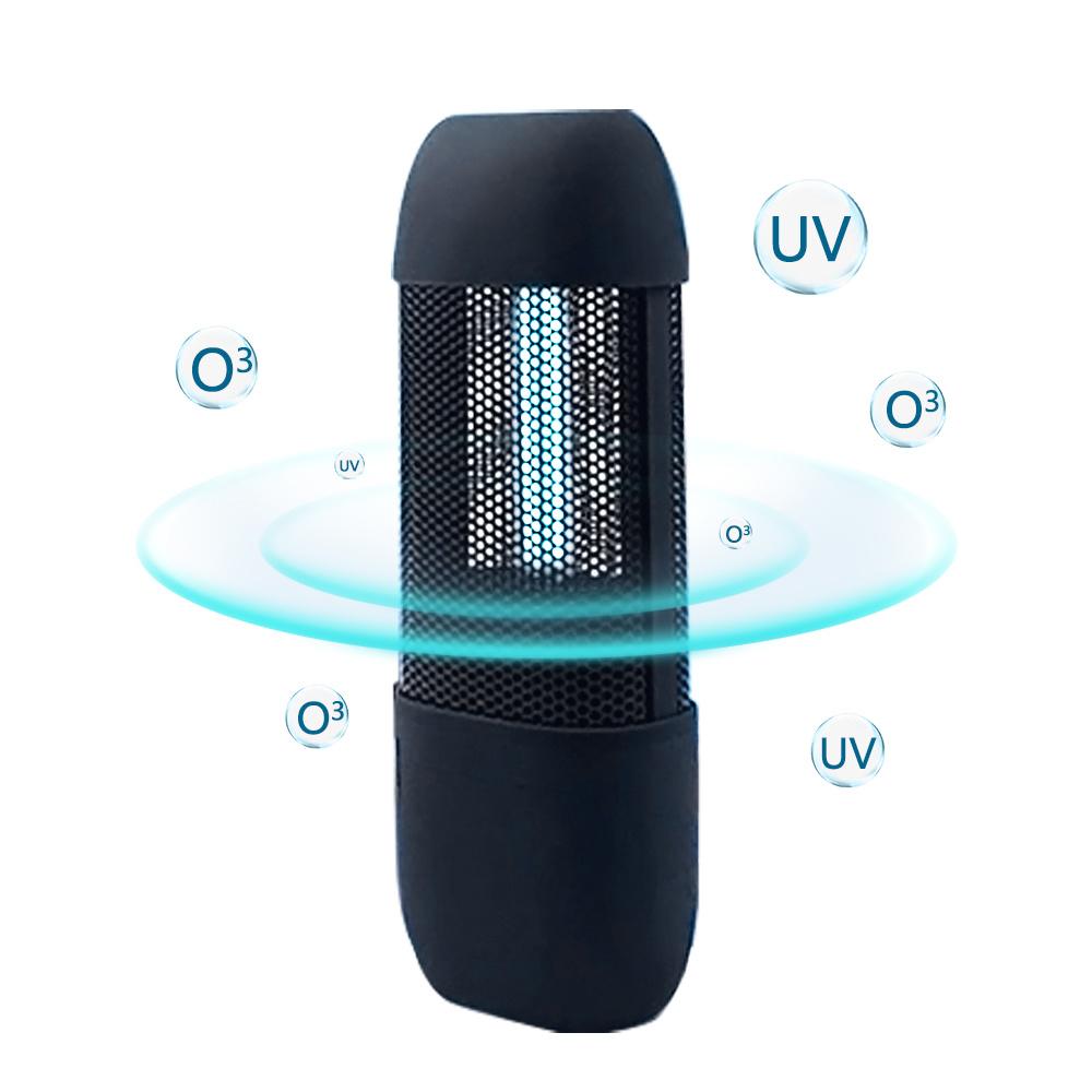 USB UV Sanitizer Light Ultraviolet Sterilizer for Toilet//Wardrobe//Locker