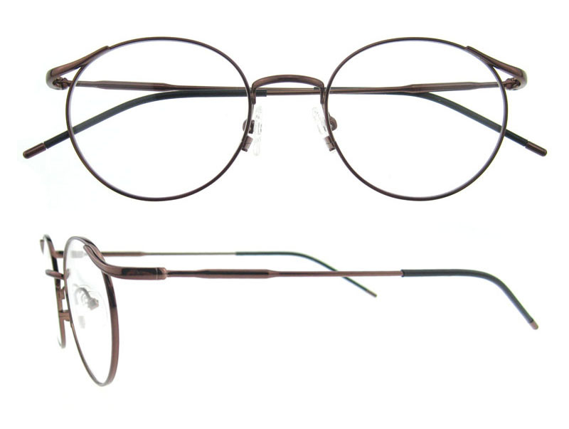 348203651ed1 China Designer Round Titanium Glasses Frame for Girls Photos ...