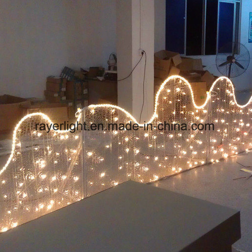 Led Wave Decoration Outdoor Lighting Products For Holiday Project