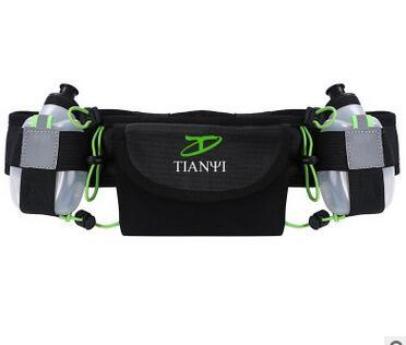 Running/Travel Belt with Water Bottle Holder Fitness Walking/Cycling Bum/Waist Bag