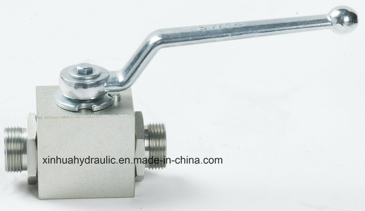 2 Way High Pressuer Carbon Steel Ball Valve
