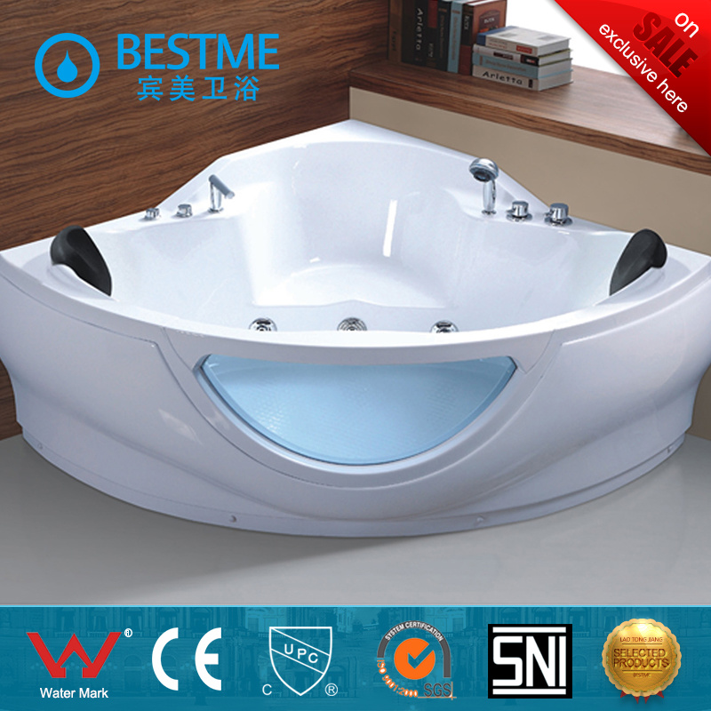China Acrylic Corner Massage Bathtub, Acrylic Corner Massage Bathtub ...