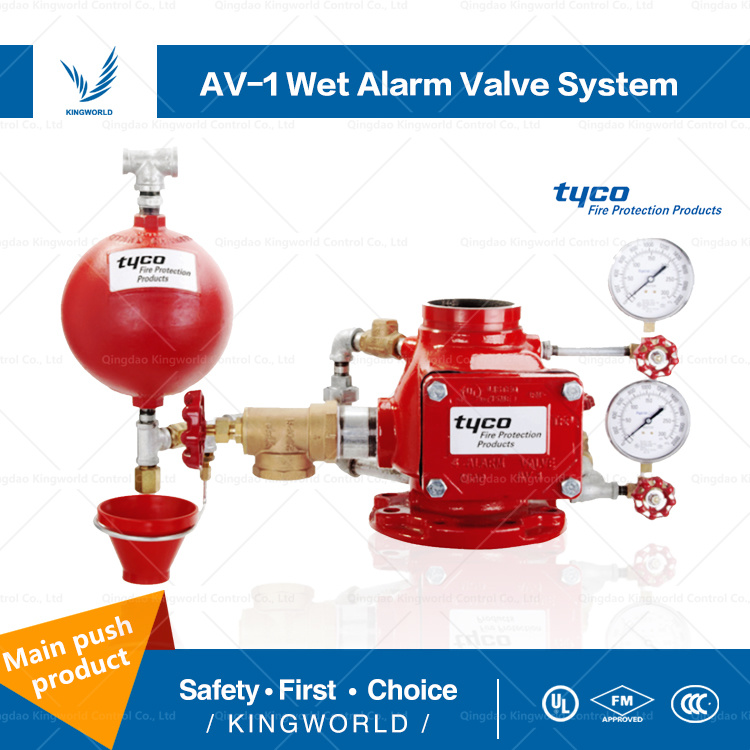 China Good Price Waterflow Alarm Check Valves AV 1 FM UL