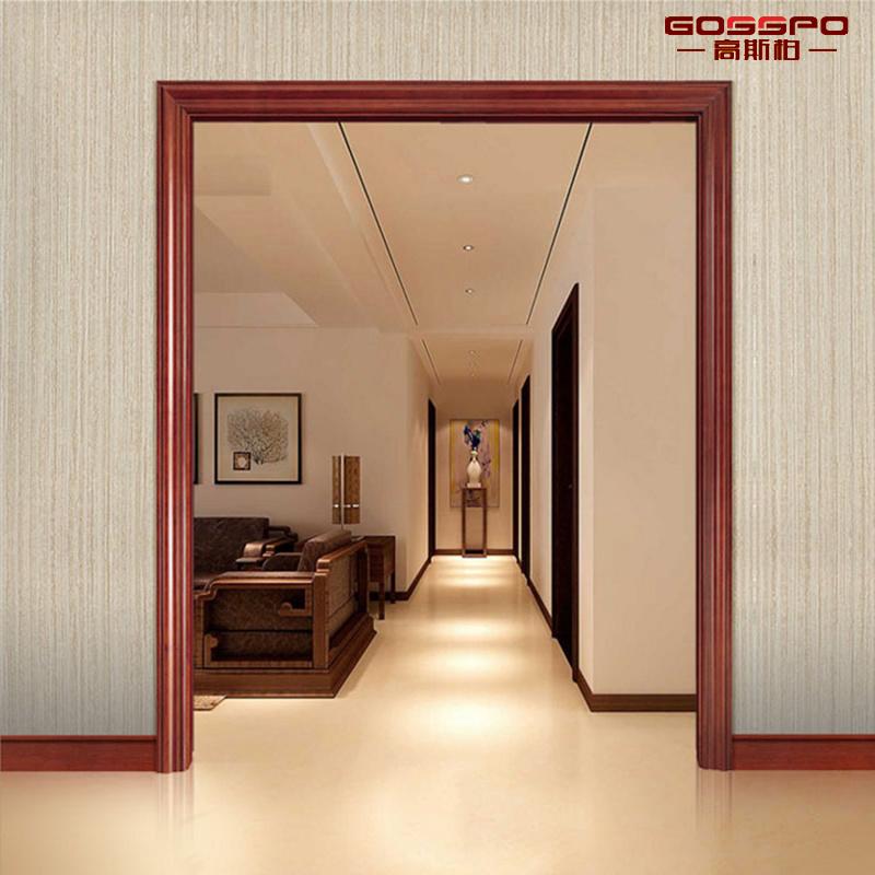 China Interior Room Solid Wooden Decorative Door Frame Moulding